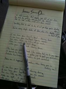 Una nueva canción del puño y letra de Tyson